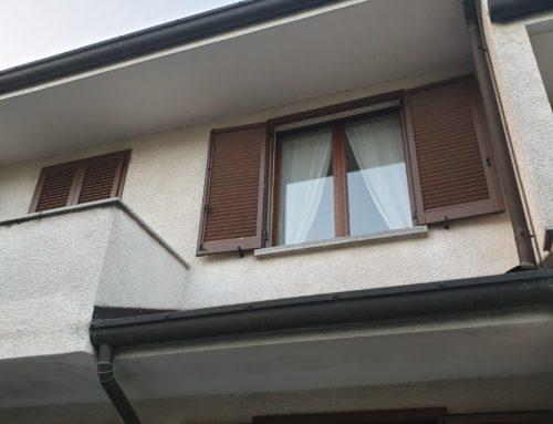 Una delle nostre ultime installazioni, finestre, persiane e porte finestra