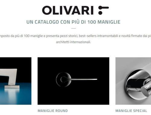 Oggi vi presentiamo: OLIVARI – Maniglie di design